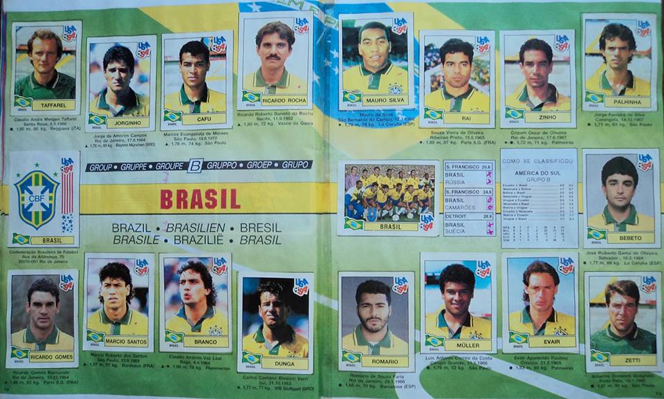 brasil 93 panini