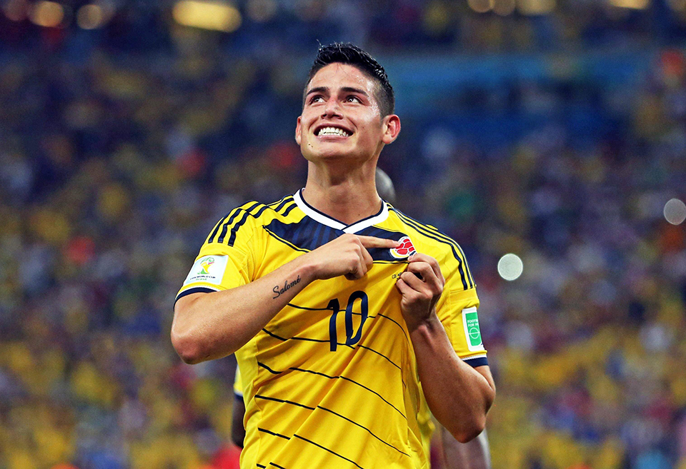 colombia james