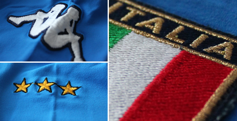 italy 2000 shirt details