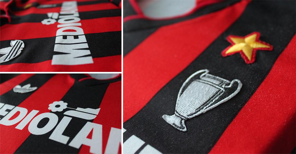 milan 90 shirt details